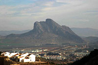 El Peñon de los Enamoraos en Antequera
