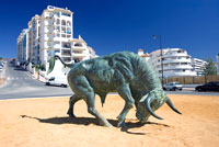 Bull Monument Estepona