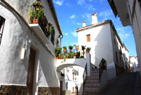 Typical Andalusian Street Jubrique