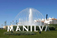 Fountain Entrance of Manilva