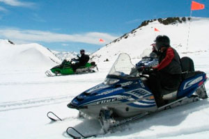 Snowmobile excursions in Sierra Nevada, Granada